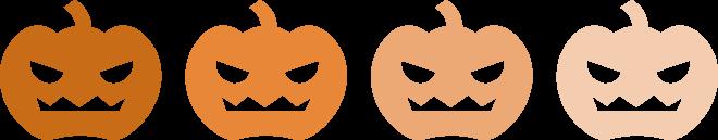 色から見るハロウィン~オレンジと黒~